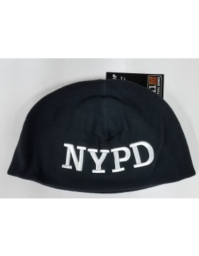 5.11 NYPD Watch Cap with White Embroidery