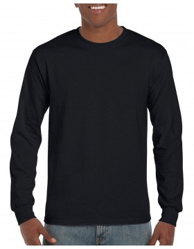 Gildan Adult 5.5 oz., 50/50 Long-Sleeve T-Shirt with BOP Logo and Federal Officer Options